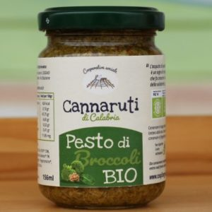PESTO DI BROCCOLI BIO 156 ml