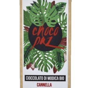 CHOCOPAZ CIOCCOLATO DI MODICA BIO ALLA CANNELLA